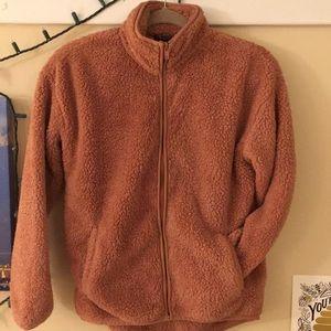 Forever 21 teddy bear jacket